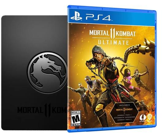 PS4 Mortal Kombat XI Ultimate Steelbook