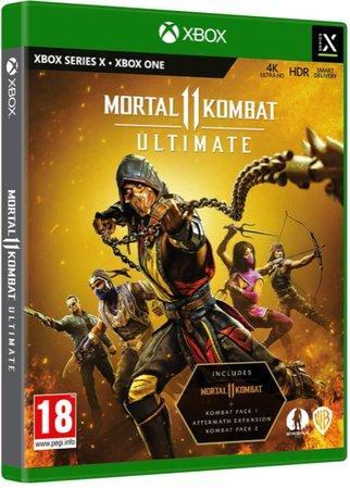 Hra Ostatní Xbox One / Series X Mortal Kombat XI Ultimate