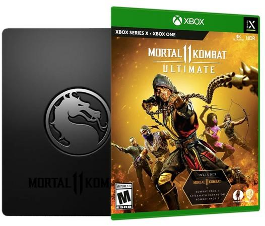 XSX Mortal Kombat XI Ultimate Steelbook
