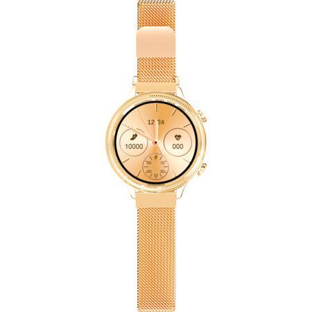 Chytré hodinky Aligator Lady Watch zlaté