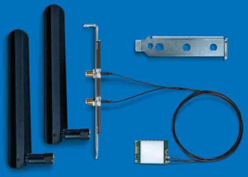 Intel Dual Band Wi-Fi/Bluetooth adaptér AC 8265, 2230, 2x2 AC + BT, Desktop Kit, 8265.NGWMG.DTX1