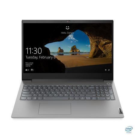 "Lenovo ThinkBook15p IMH i7-10750H/8GB+8GB/1TB SSD/GTX 1650TI 4GB/15,6"" UHD 600 nits matný/W10PRO/Grey, 20V3000ACK"