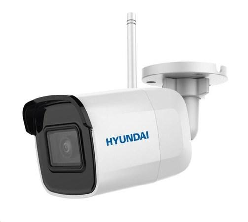 HYUNDAI IP kamera 2Mpix, H.265+, 25 sn/s, obj. 2,8mm (110°), DC12V, audio in, IR 30m, IR-cut,Wi-Fi, WDR digit, mSD, IP66, HYU-648