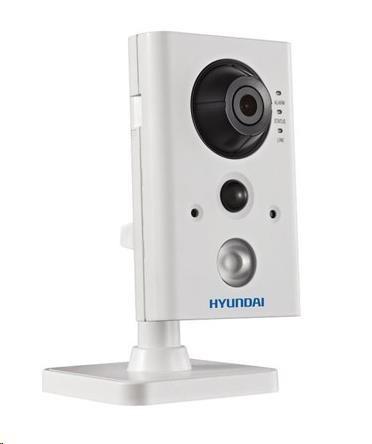 HYUNDAI IP kamera 2Mpix, H.264, 25 sn/s, obj. 2,8mm (110°), PoE,audio,DI/DO, IR 10m, IR-cut,Wi-Fi,WDR 120dB, mSD, analyt, HYU-420