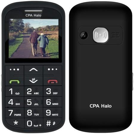 CPA Halo 11 Pro Senior černý s nabíjecím stojánkem