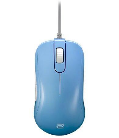 ZOWIE by BenQ herní myš S2 DIVINA BLUE/ drátová/ 3200 dpi/ USB/ modrá/ 5 tlačítek/ pro praváky/ střední velikost, 9H.N1LBB.A61