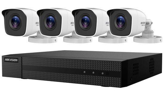 HIKVISION HiWatch Turbo HD KIT HWK-T4144BH-MM/ 4Mpx/ 4x kamery HWT-B140-M/ 1x NVR HWD-6104MH-G2(B)/ 1TB HDD, 301501088