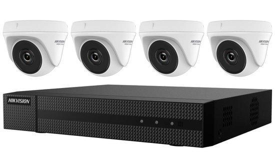 HIKVISION HiWatch Turbo HD KIT HWK-T4142TH-MH/ 1080p/ 4x kamery HWT-T120/ 1x NVR HWD-6104MH-G2(B)/ 1TB HDD, 301501090