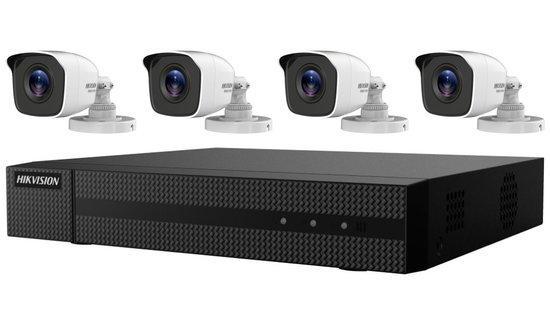 HIKVISION HiWatch Turbo HD KIT HWK-T4142BH-MP/ 1080p/ 4x kamery HWT-B120-P/ 1x NVR HWD-6104MH-G2(B)/ 1TB HDD, 301501097