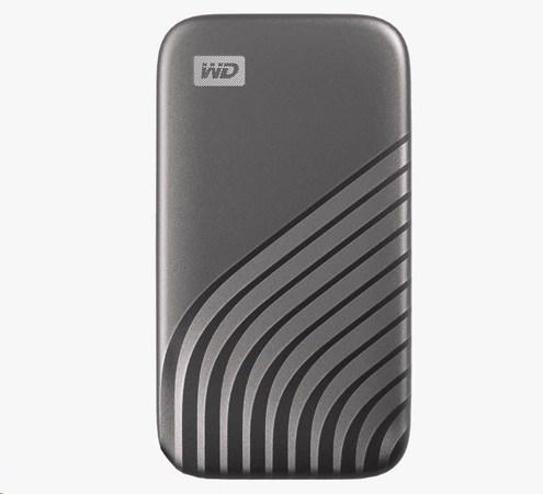 SanDisk WD My Passport SSD externí 500GB , USB-C 3.2 ,1050/1000MB/s R/W PC & Mac ,space gray, WDBAGF5000AGY-WESN