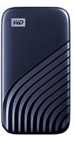 SanDisk WD My Passport SSD externí 500GB , USB-C 3.2 ,1050/1000MB/s R/W PC & Mac ,Midnight Blue, WDBAGF5000ABL-WESN
