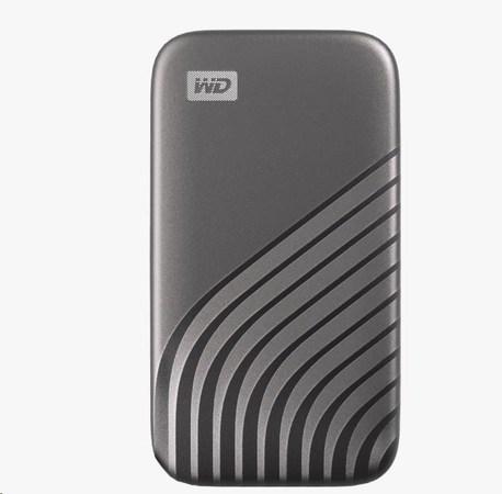 SanDisk WD My Passport SSD externí 1TB , USB-C 3.2 ,1050/1000MB/s R/W PC & Mac ,space gray, WDBAGF0010BGY-WESN