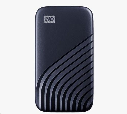 SanDisk WD My Passport SSD externí 1TB , USB-C 3.2 ,1050/1000MB/s R/W PC & Mac ,Midnight Blue, WDBAGF0010BBL-WESN