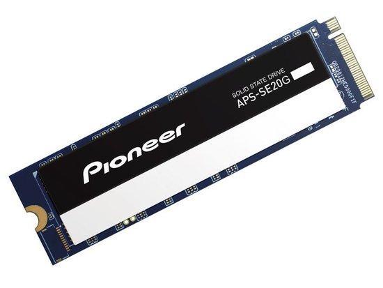Pioneer APS-SE20G 512GB SSD / Interní / M.2 / PCIe Gen 3 x 4 / NVMe 1.3 / NAND, APS-SE20G-512