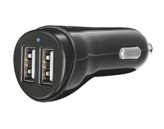 nabíječka TRUST Fast Dual Car Charger USB, 2x12W, 21713