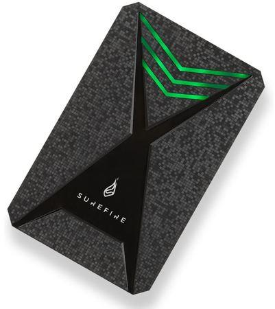 SUREFIRE GX3 Gaming HDD USB 3.2 Gen 1 2TB Black