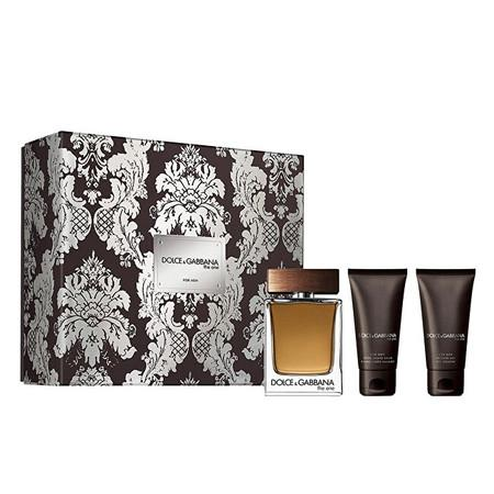 Dolce & Gabbana The One For Men - EDT 100 ml + balzám po holení 50 ml + sprchový gel 50 ml