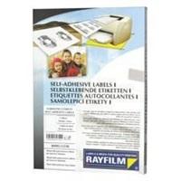 RAYFILM Fólia matná strieborná samolepiaca laser 100ks/A4 *R05551123A, R0555.1123A