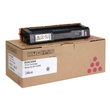 407644 Toner pro Aficio SP C220N / SP C221N / SP C222DN tiskárny, RICOH magenta, 2 000 stránek, 407644