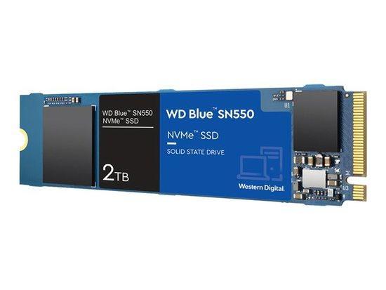 WD, WD SSD Blue SN550 2TB NVMe Read 2400MB, WDS200T2B0C