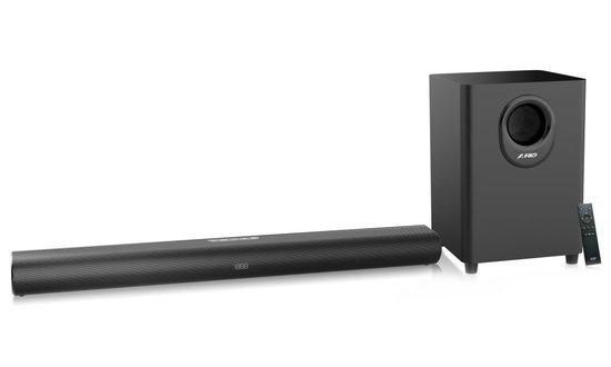 "FENDA F&D soundbar HT-330/ 2.1/ 80W/ BT/ Optický/ HDMI/ 3,5"" jack/ USB vstup"