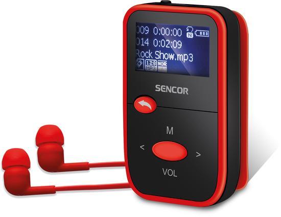 SENCOR SFP 4408 RD 8GB MP3 PLAYER