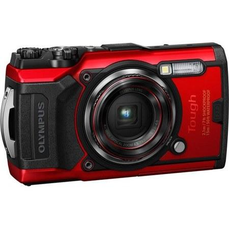 Olympus TG-6 - 12MP, 4x zoom - Red