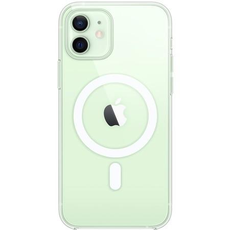 Apple průhledný kryt s MagSafe iPhone 12/ 12 Pro čirý