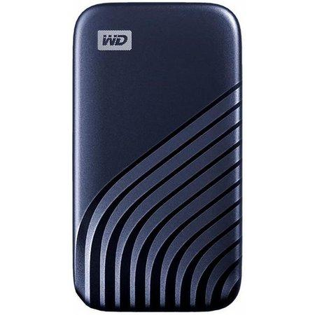 WD My Passport externí SSD 500GB modrý