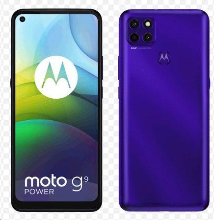 Motorola Moto G9 Power 4GB/128GB Electric Violet