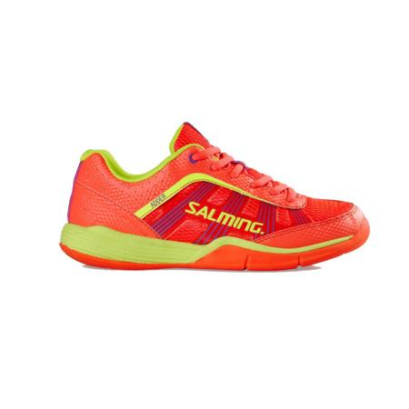 SALMING Adder Women DivaPink/SafetyYellow, 4 UK - 36 2/3 EUR - 23 cm