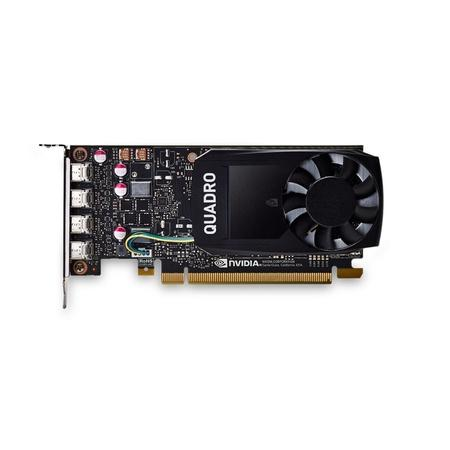 PNY Quadro P1000 DVI PCI-Express 3.0 x16 LP 4GB GDDR5 128bit 4x Mini DP 1.4