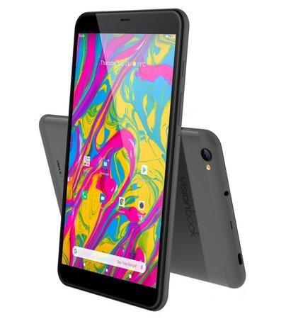 "UMAX tablet PC VisionBook 8C LTE/ 8"" IPS/ 1280x800/ SC9863A/ 2GB/ 32GB Flash/ USB-C/ micro SIM/ Android 10/ šedý"