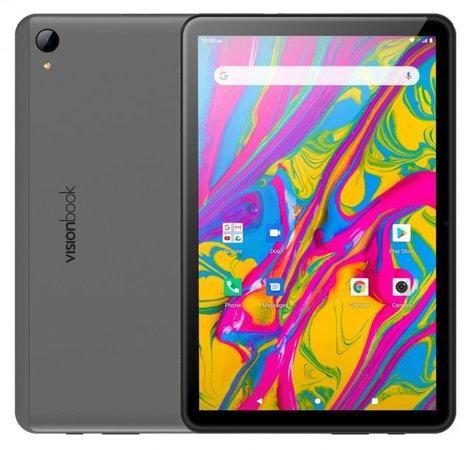 "UMAX tablet PC VisionBook 10C LTE/ 10,1"" IPS/ 1920x1200/ SC9863A/ 3GB/ 32GB Flash/ USB-C/ micro SIM/ Android 10/ šedý"