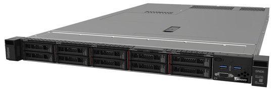 """Lenovo ThinkSystem SR635 EPYC 7332P 8C 2.8GHz 120W/1x32GB/0GB 2,5""""(8)/930-8i(2BG f)/750W, 7Y99A020EA"""