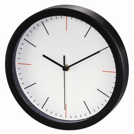 Hama MaxR, nástěnné hodiny, průměr 25 cm, tichý chod, bílé