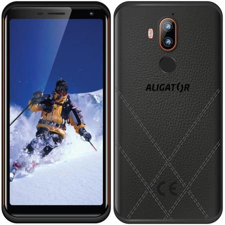 Mobilní telefon Aligator RX800 eXtremo - černý/oranžový