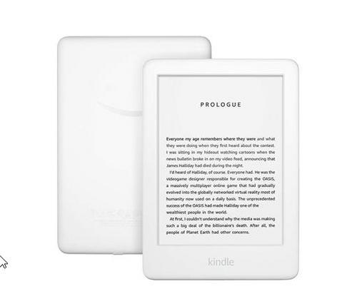 AMAZON new KINDLE 2020 10. generace bílá (2020, 10.gen, 6 palců, white) elektronická čtečka knih, 6in display (s reklamami)