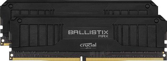 Crucial DDR4 16GB (2x8GB) Ballistix MAX RGB DIMM 5100Mhz CL19 černá, BLM2K8G51C19U4B