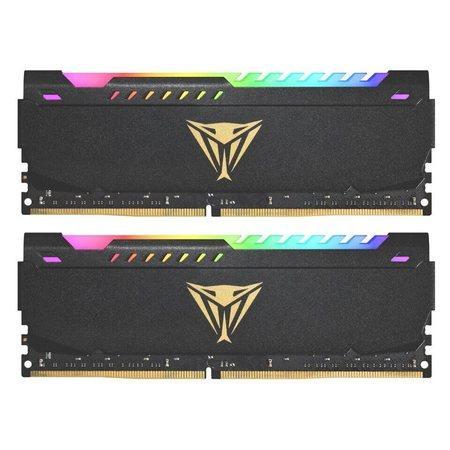 32GB DDR4-3200MHz RGB Patriot CL18, kit 2x16GB, PVSR432G320C8K