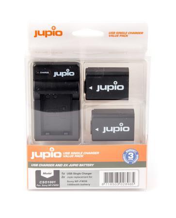 Set Jupio 2x NP-FW50 + USB nabíječka