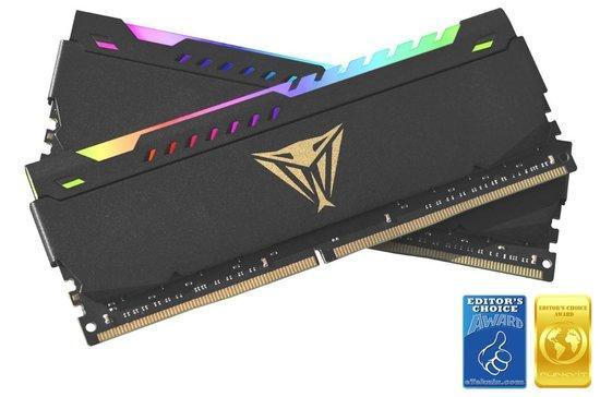 32GB DDR4-3600MHz RGB Patriot CL20, kit 2x16GB, PVSR432G360C0K