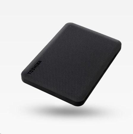 "TOSHIBA HDD CANVIO ADVANCE (NEW) 1TB, 2,5"", USB 3.2 Gen 1, černá / black"