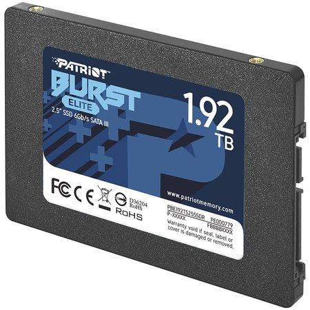 "PATRIOT BURST ELITE 1,92TB SSD / Interní / 2,5"" / SATA 6Gb/s /"