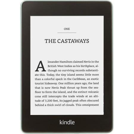Čtečka e-knih Amazon Kindle Paperwhite 4 2018 s reklamou - zelená,