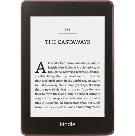 Čtečka e-knih Amazon Kindle Paperwhite 4 2018 s reklamou - fialová,