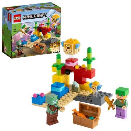 Lego Minecraft Korálový útes