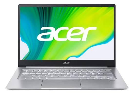 """ACER NTB Swift 3 SF314-59-54MP - 14"""" FHD,i5-1135G7@2.40GHz,8GB,512GBSSD,Iris Xe Graphics,W10P,Stříbrná, NX.A5UEC.002"""