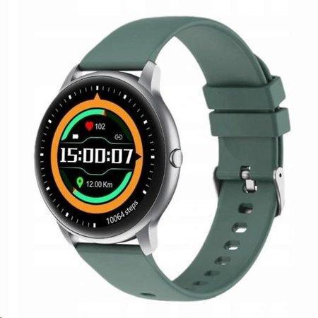 IMILAB chytré hodinky KW66, stříbrná-zelená