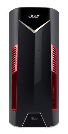 Acer Nitro N50-110 - Ryzen 5 3600X@3.80 GHz,8GB,1TB HDD,256GB SSD,GeForce GTX 1650 4 GB,DVD,WiFi,kb+m,W10H